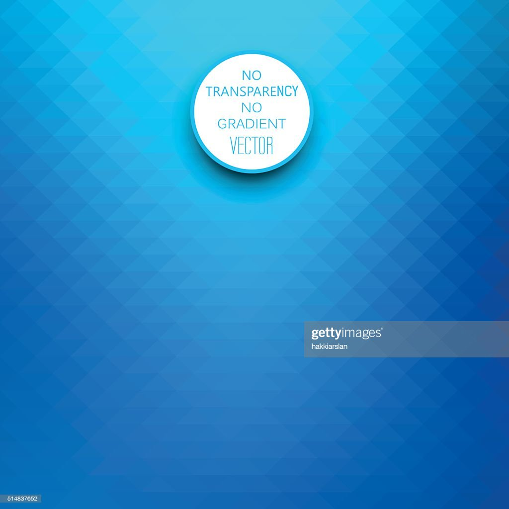 Abstract gradient art, geometric vector blue background