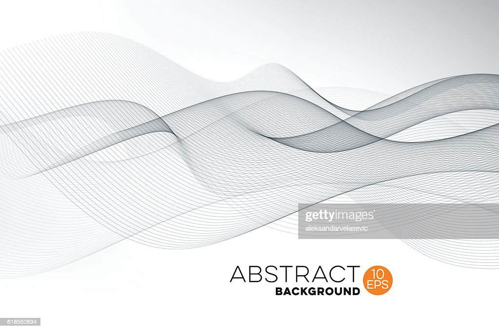 Abstract Graphic Wave Background : stock vector