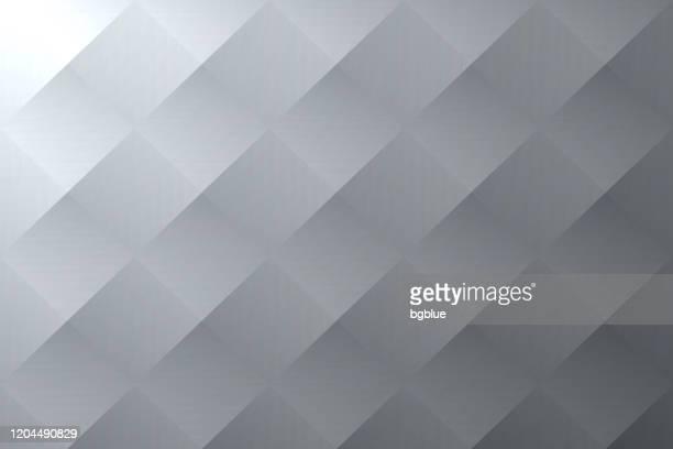 illustrations, cliparts, dessins animés et icônes de fond gris abstrait - texture géométrique - être à l'ombre