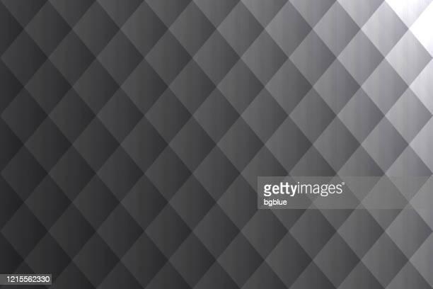 ilustrações, clipart, desenhos animados e ícones de fundo cinza abstrato - textura geométrica - cinza descrição de cor