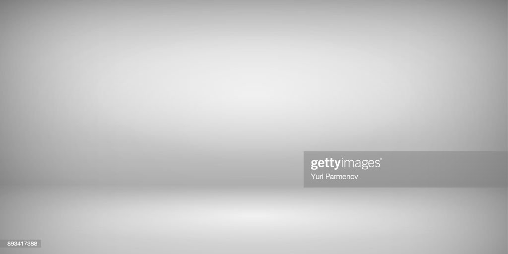 Abstract gray empty room studio gradient used for background and display your product. Vector