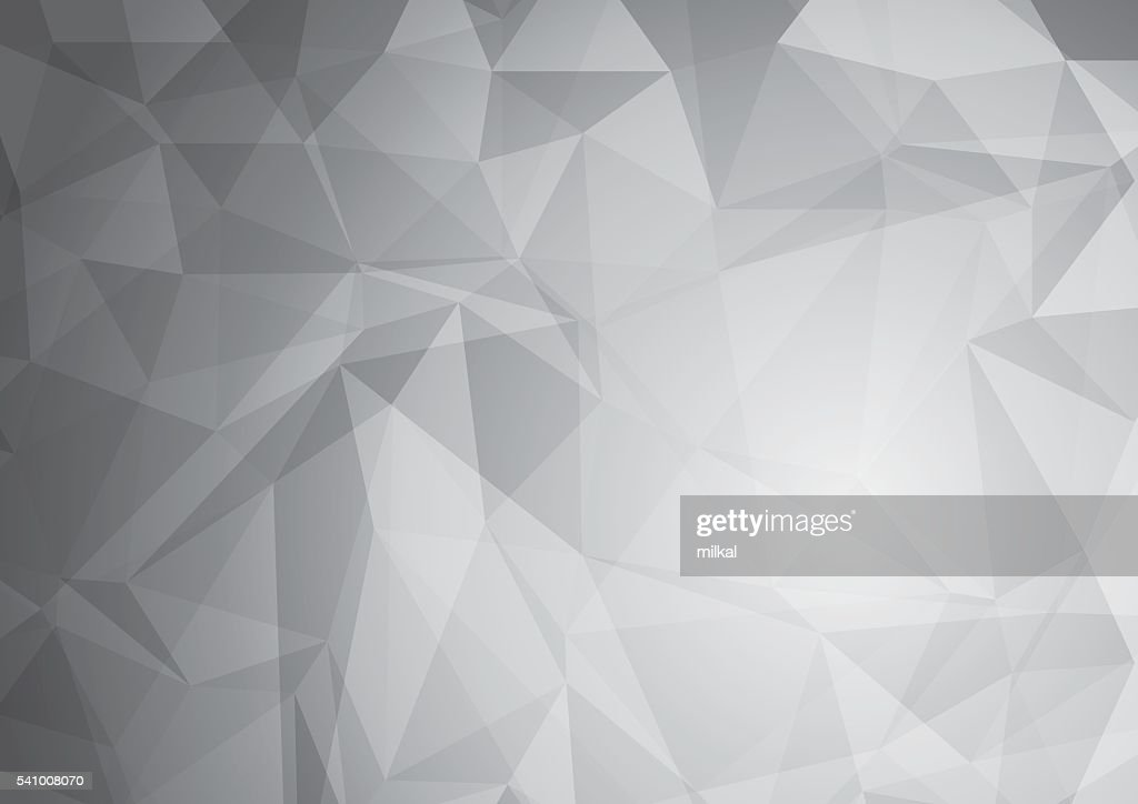 Abstract gray low poly