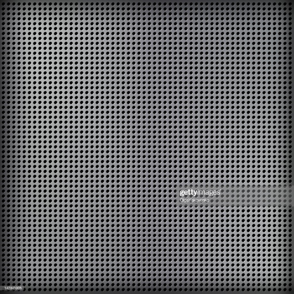 Abstract gray mesh background over black
