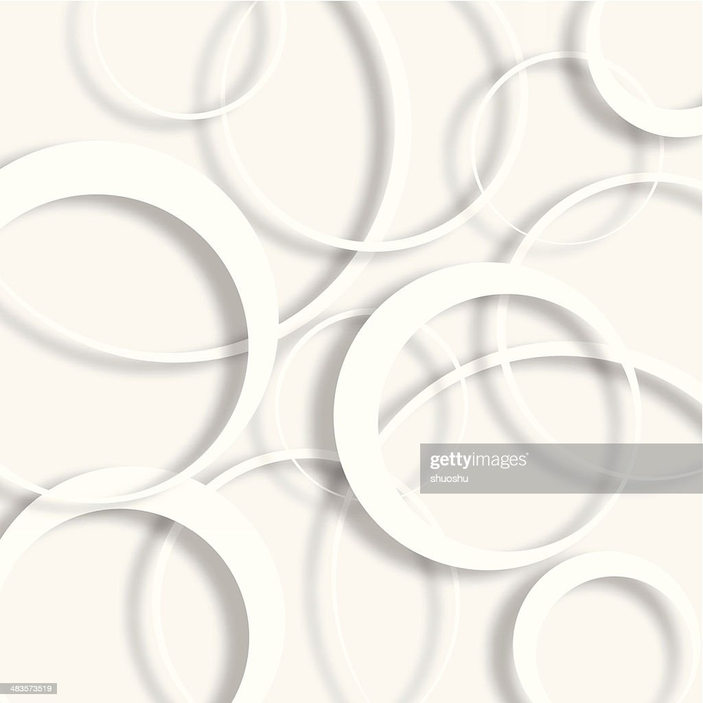 abstract gray ring shape background