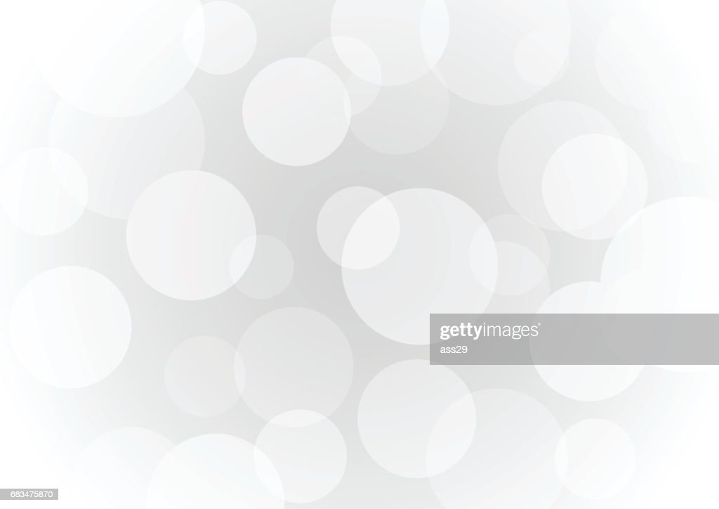 Abstract gray transparent circle background