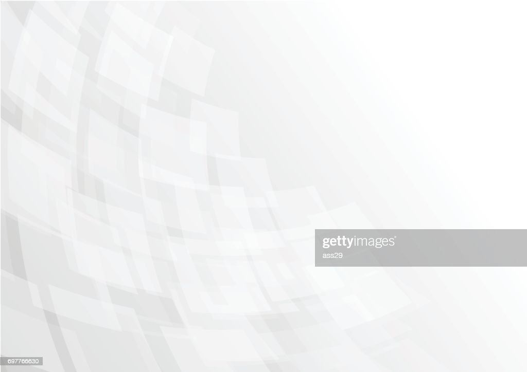 Abstract gray transparent square background