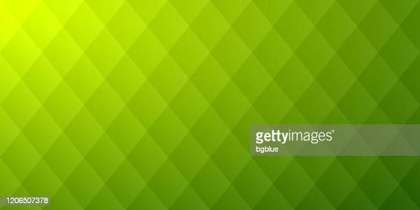 abstract green background - geometric texture - rhombus stock illustrations