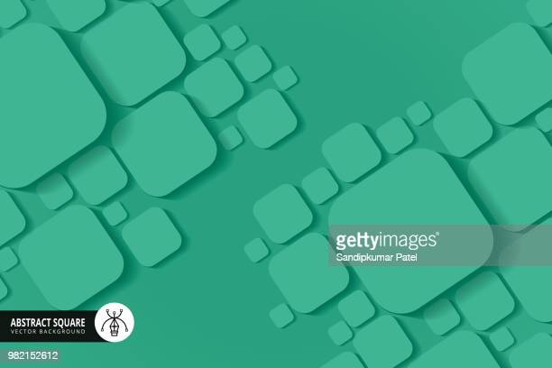 abstract green background - rectangle stock illustrations