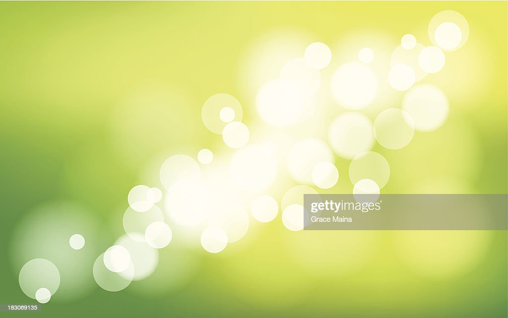 Abstract green background - VECTOR : stock illustration