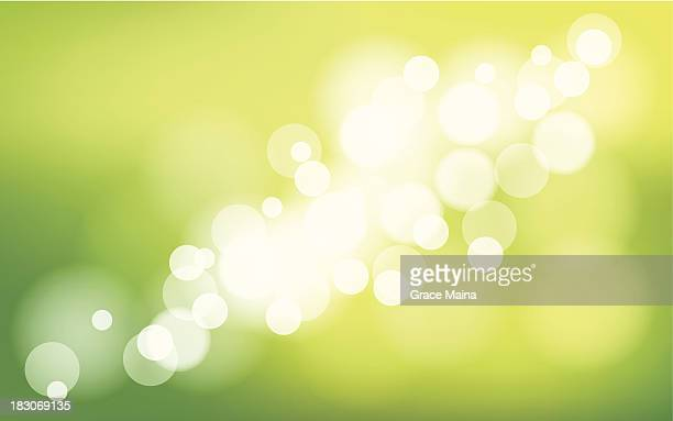 abstract green background - vector - flare stack stock illustrations, clip art, cartoons, & icons