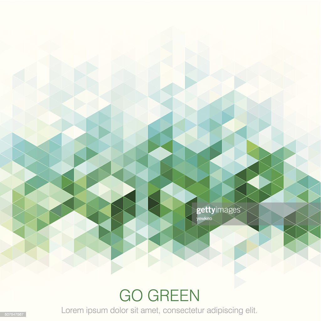 Abstract Green backgrounds.
