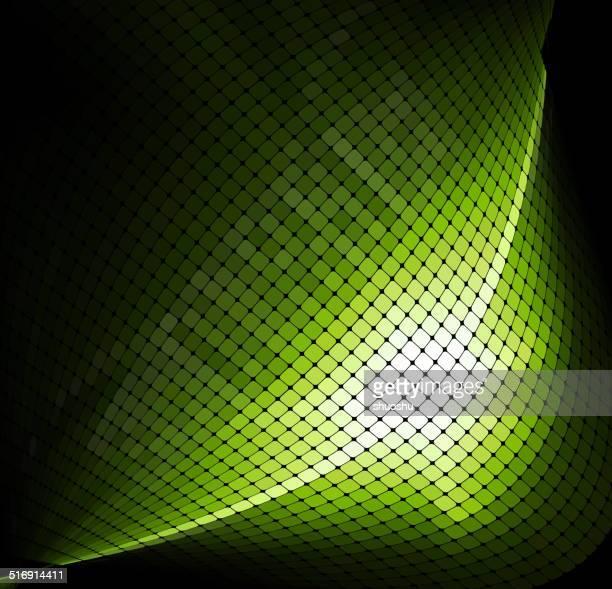 Abstrato tecnologia fundo de verificação verde padrão