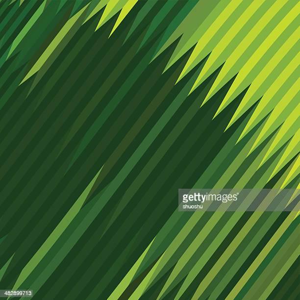 Fundo abstrato verde Forma