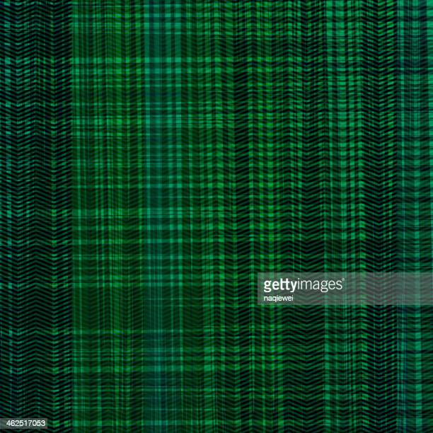 abstract green texture background - scottish tweed stock illustrations, clip art, cartoons, & icons