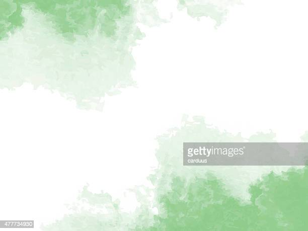 abstract green watercolor background - green colour stock illustrations