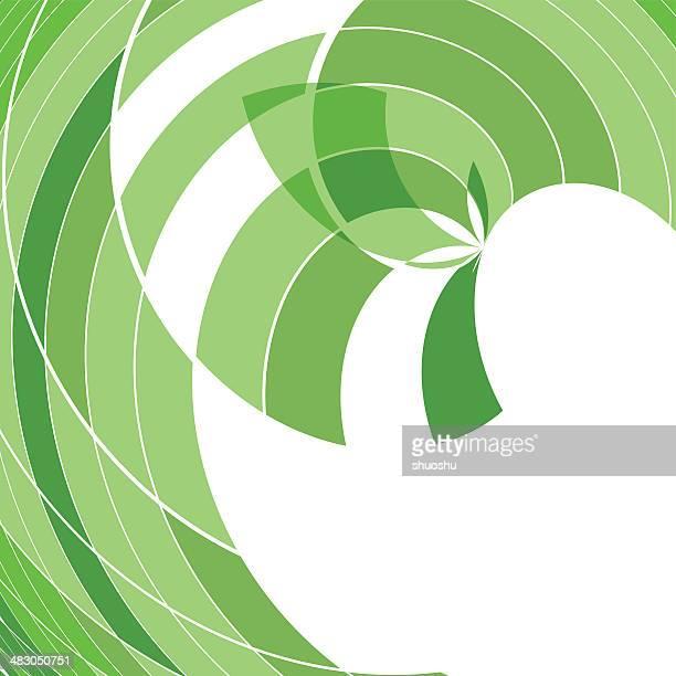 ilustraciones, imágenes clip art, dibujos animados e iconos de stock de abstract green de forma de onda - sparks