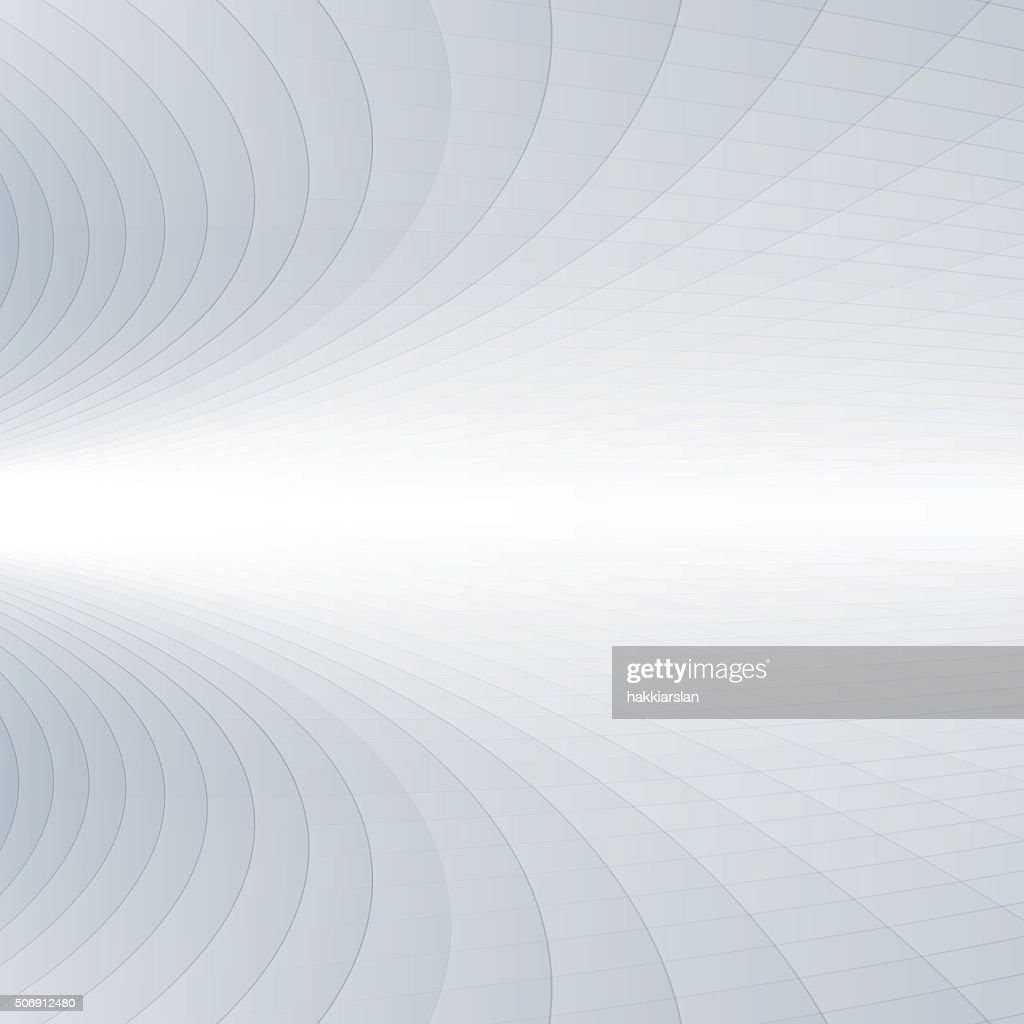 Abstract grey and white perspective background