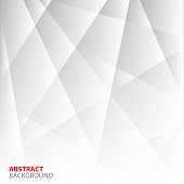 Abstract Grey Geometric Background.