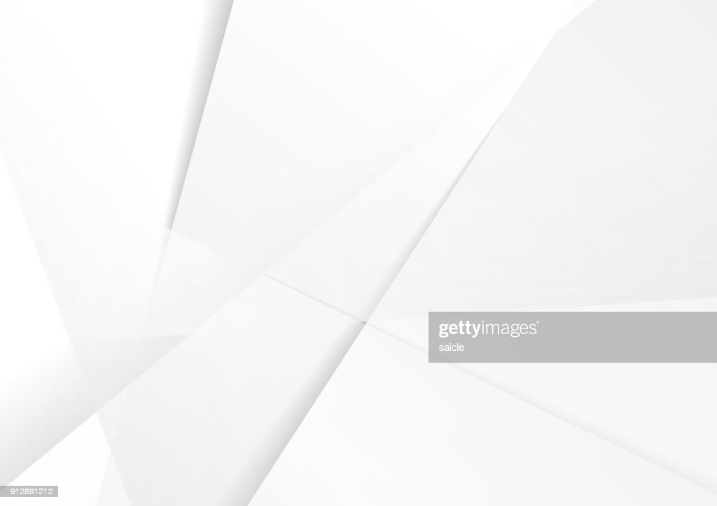 Abstract grey hi-tech polygonal corporate background