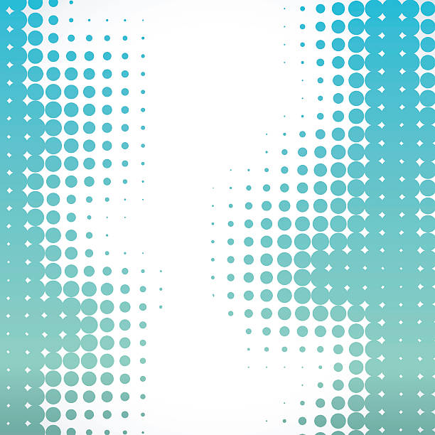 abstract halftone background - cool attitude stock illustrations