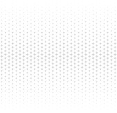 Abstract halftone light seamless vector pattern