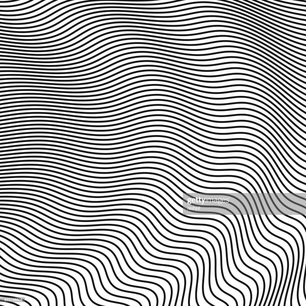 abstract halftone waves. vector background for design