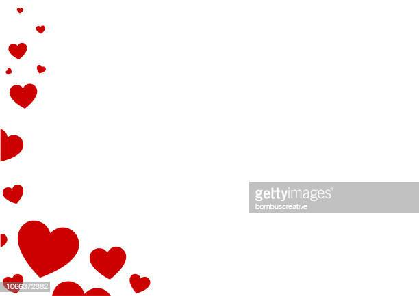 ilustrações de stock, clip art, desenhos animados e ícones de abstract heart background - valentines day