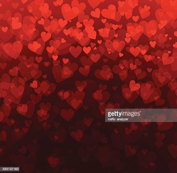 abstract hearts background - 2015 stock illustrations