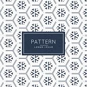 abstract hexagonal pattern design