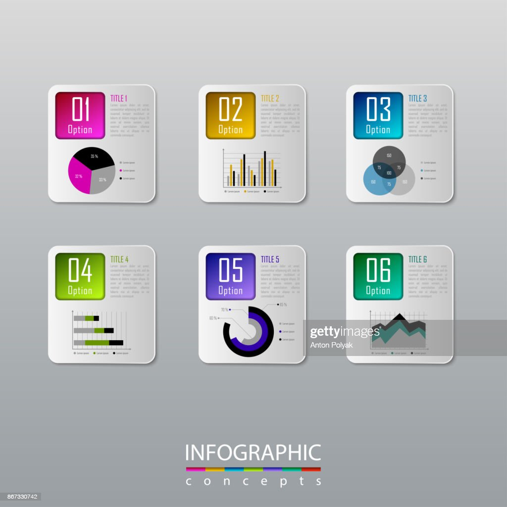 Abstract infographic timeline business template for chart, diagram, web design, workflow layout