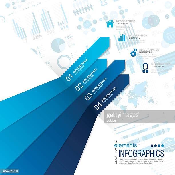 Abstrakte Infografiken