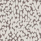 Abstract irregular blot seamless pattern. Spotted floral texture