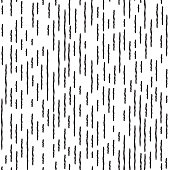 Abstract irregular striped line seamless pattern. Black and whit