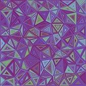 Abstract irregular triangle mosaic background