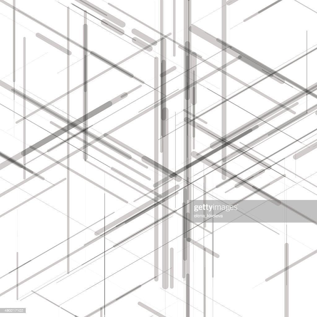 Abstract isometric computer generated 3d blueprint visualization abstract isometric computer generated 3d blueprint visualization lines background vector vector art malvernweather Gallery