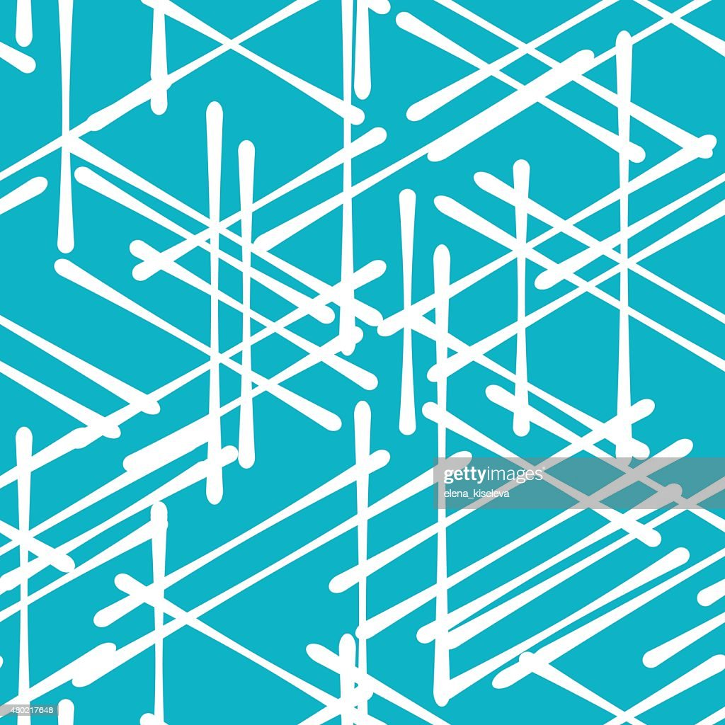 Abstract isometric computer generated 3d blueprint visualization abstract isometric computer generated 3d blueprint visualization lines background vector art malvernweather Gallery