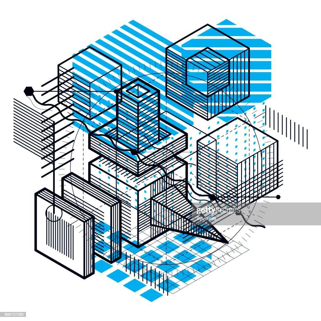 3d Squares Cube Diagram - Product Wiring Diagrams •