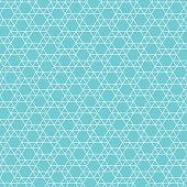 abstract jewish star pattern