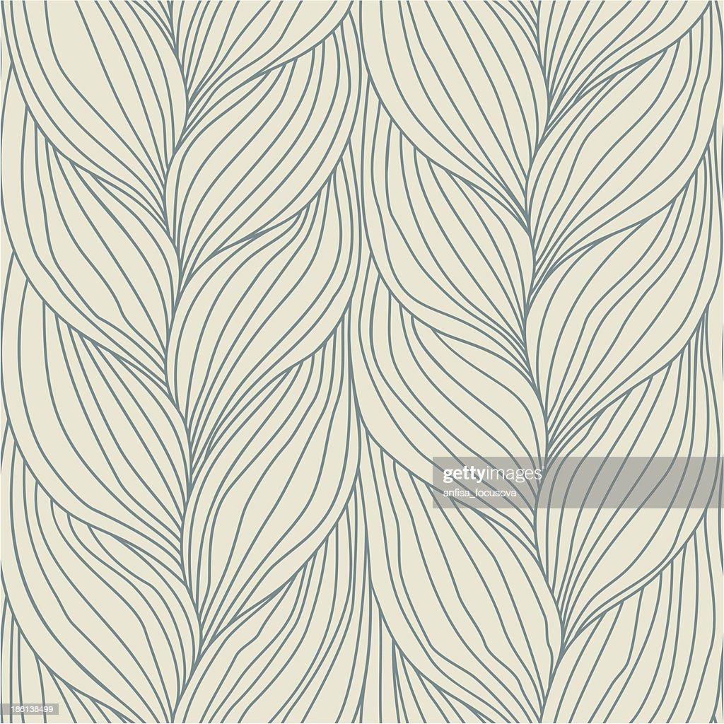 Abstract leaves background design in neutral colors