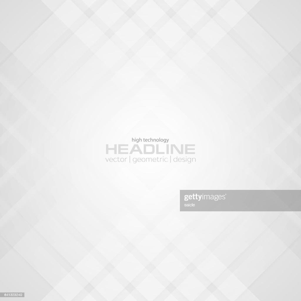 Abstract light grey tech pattern background