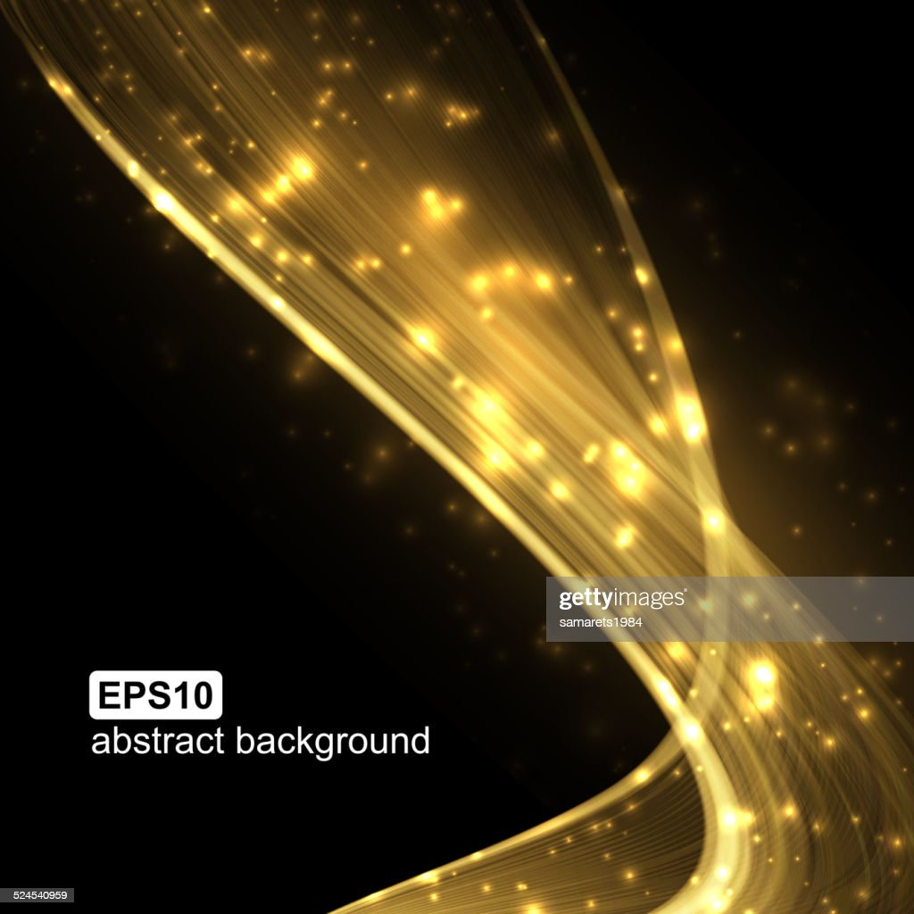 Abstract light wave futuristic background.