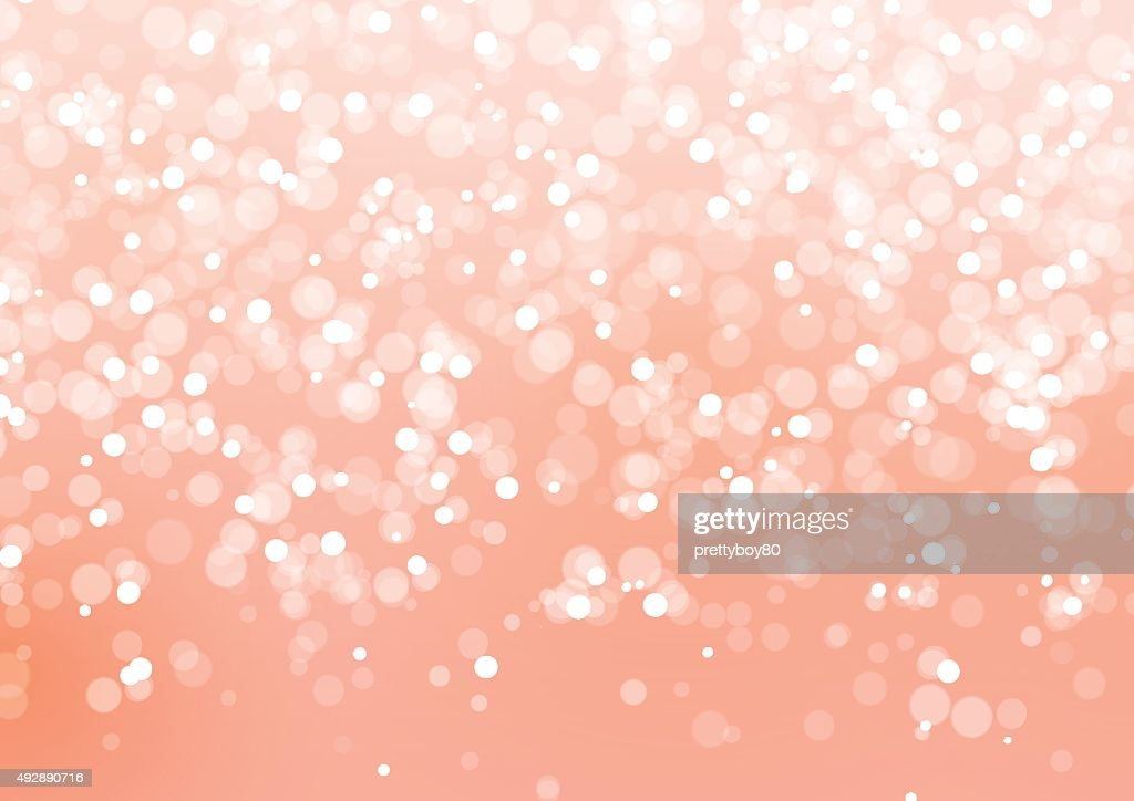 Abstract Lights on Pink Background