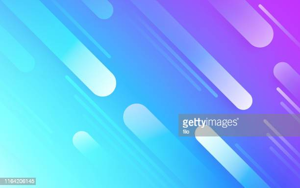 abstract line dash background - teal stock illustrations