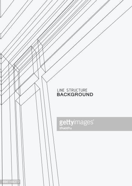 ilustraciones, imágenes clip art, dibujos animados e iconos de stock de patrón de fondo abstracto - arquitectura