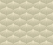 Abstract line seamless pattern in oriental style. Floral asian ornamental wallpaper