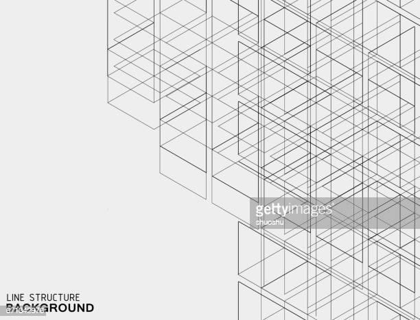 abstrakte Linie Struktur Hintergrund