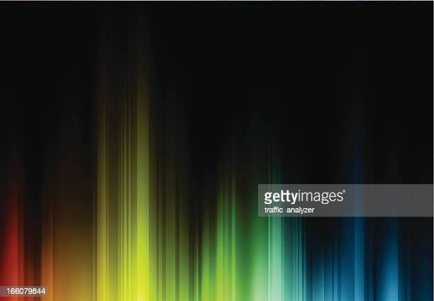 abstract lines - light effect stock illustrations