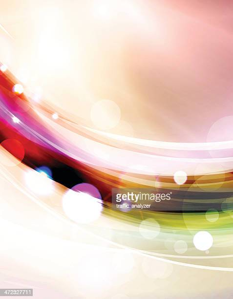 abstract lines - signal flare stock illustrations, clip art, cartoons, & icons