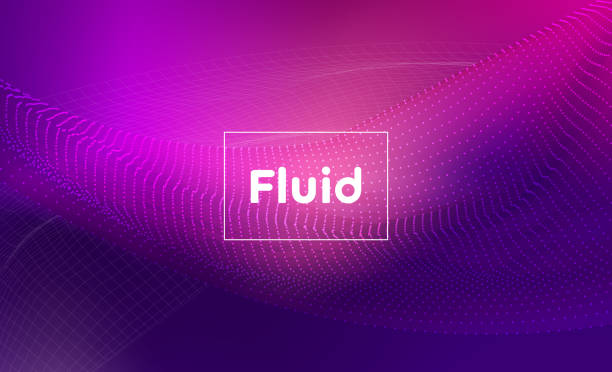 abstract liquid background - pink stock illustrations