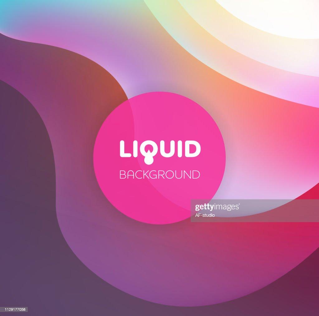 Abstract Liquid Background : stock vector